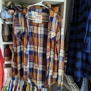 Mossimo Boyfriend Fit Button Down Shirt